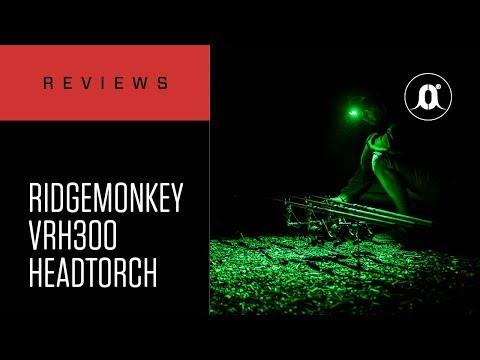 CARPologyTV - RidgeMonkey VRH300 Headtorch Review