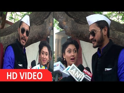 Manjari Phadnis & Shreyas Talpade First Helicopter ride Experience share with Media