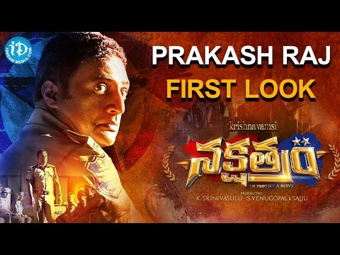 Prakash Raj First Look in Nakshatram Movie