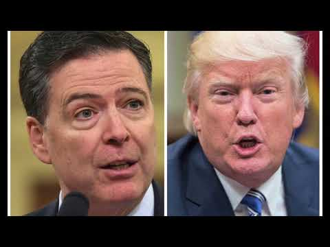 Trump 'morally unfit' for office, fired FBI chief Comey says