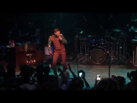 Jidenna Front Row In ATL Concert Pop Up Show 'Little Bit More' Terminal West