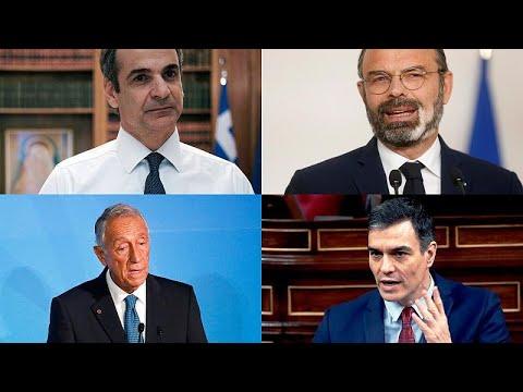 Frankreich, Griechenland, Spanien, Portugal: Coronakri ...