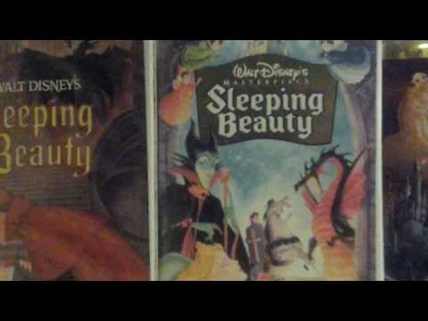 3 different versions of sleeping Beauty