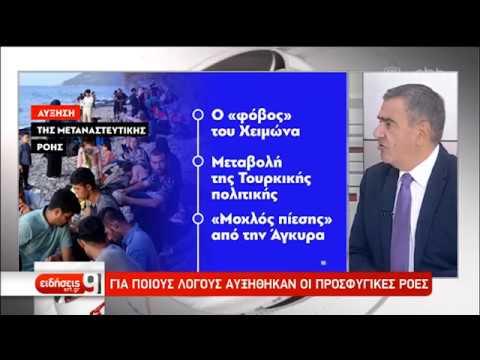 Εικόνες 2015 στη Συκαμιά Λέσβου – Συνεδρίαση ΚΥΣΕΑ | 30/08/2019 | ΕΡΤ