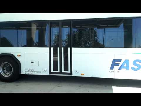 Fairfield And Suisun Transit (FAST) Gillig Low Floor Hybrid #09636 - Route 1S (quickie)