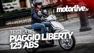 5. PIAGGIO Liberty 125 ABS 2016 | TEST