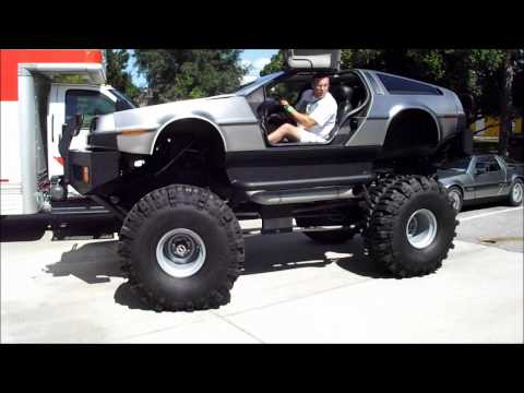 DeLorean DMC 12 Monster Truck | Video