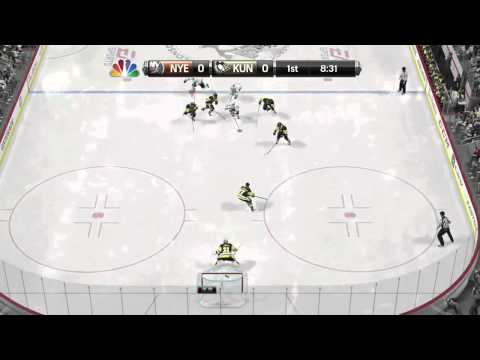 NHL 15 Highlights: Gigantic Pile Up leads to Goal Against