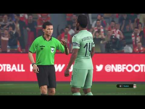 PES 2019 (PS4) - Gameplay - Liverpool Vs Arsenal