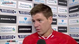 Steven Gerrards emotionales Interview nach dem 3:2 gegen Manchester City (2014)