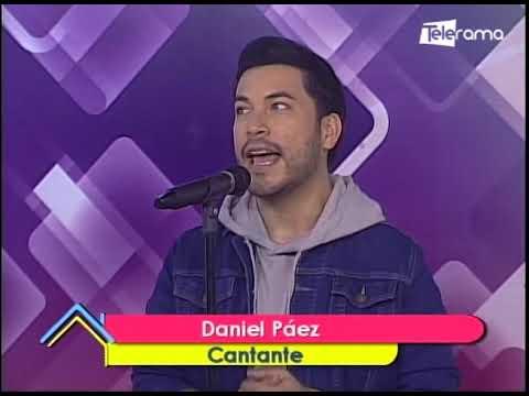 Daniel Páez Cantante