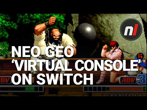 Nintendo Switch 'Virtual Console' for Neo-Geo | Neo-Geo Games on Nintendo Switch
