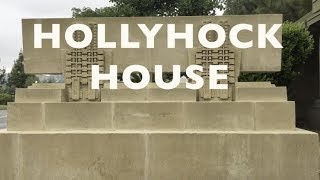 The 8th June, 2017 was the 150th anniversary of architect Frank Lloyd Wright's birth. The Hollyhock House in Barnsdall Art Park, East Hollywood permitted photgraphy on that day.