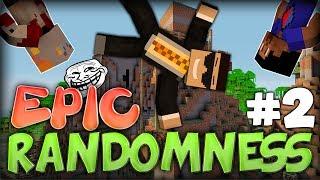 "Minecraft: Epic Randomness ""TNT POWER!"" PART 2 FINALE w/ Nooch and Vikkstar"