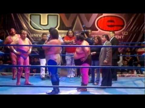 Villano III y IV vs Super Brazo y Brazo de Platino (Cabellera y Mascara vs Cabelleras)