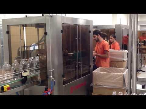 Cam Sil Dolum Makinası