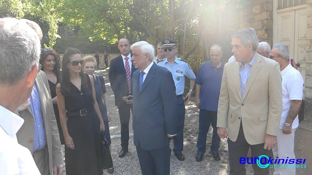 Κατάθεση στεφάνου από τον Πρόεδρο της Δημοκρατίας στο Πάρκο Ελευθερίας