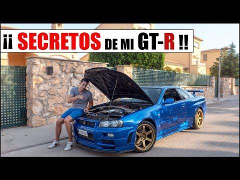 ¡¡ SECRETOS DE MI NISSAN SKYLINE GTR R34 !!  Supercars of Mike