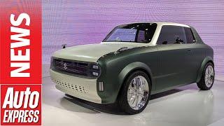 Suzuki Waku SPO - tiny retro plug-in concept to rival Honda e? by Auto Express