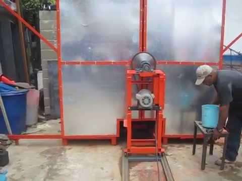 rotomoldeo - Maquina de Rotomoldeo Fabricada por Plasticos Rotomiranda,c.a Telf. 0424-150.9905 Plasticosrotomiranda@hotmail.com. Venezuela Atte. Luis Jimenez.