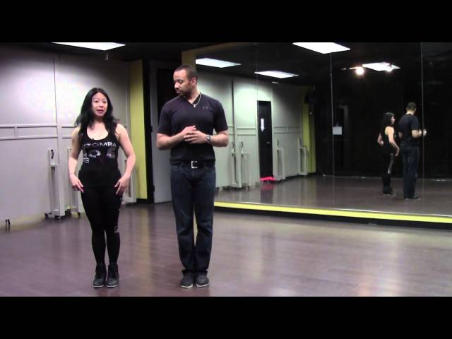 Kizomba Harmony Tutorial- Basic 2 by Monica Kay and Billy Beginner
