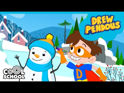 Super Drew SAVES CHRISTMAS AND SANTA CLAUS!! 🎅🎄The Stupendous Drew Pendous | Cartoons for Kids