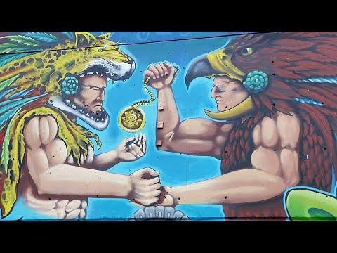 Mexiko Stadt: Die größte Leinwand der Welt