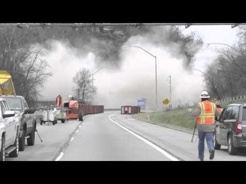 Greenfield Bridge Implosion - 12/28/15