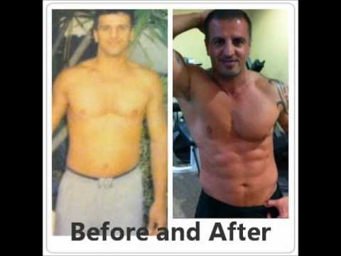 Testosterone and HGH (before and after)