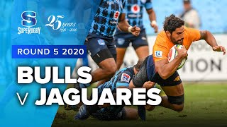 Bulls v Jaguares Rd.5 2020 Super rugby video highlights | Super Rugby Video Highlights