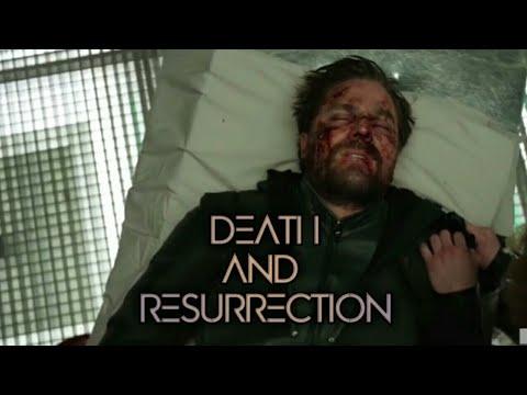 Arrow's death and resurrection HD - crisis on infinite earths || #flash #arrow #crisis #batwoman