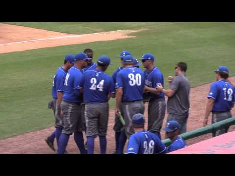 Islanders Baseball vs  Sam Houston State 5-23-15 Postgame