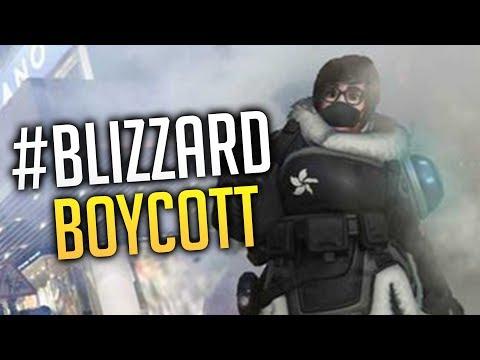 Why Everyone Is Boycotting Blizzard (The #Blizzardboycott Movement)
