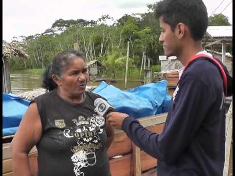 A MAIOR CHEIA DO RIO PURUS NO MUNICÍPIO DE TAPAUA