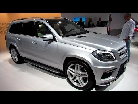 2014 Mercedes-Benz GL-Class GL350 - Exterior and Interior Walkaround - 2013 Frankfurt Motor Show