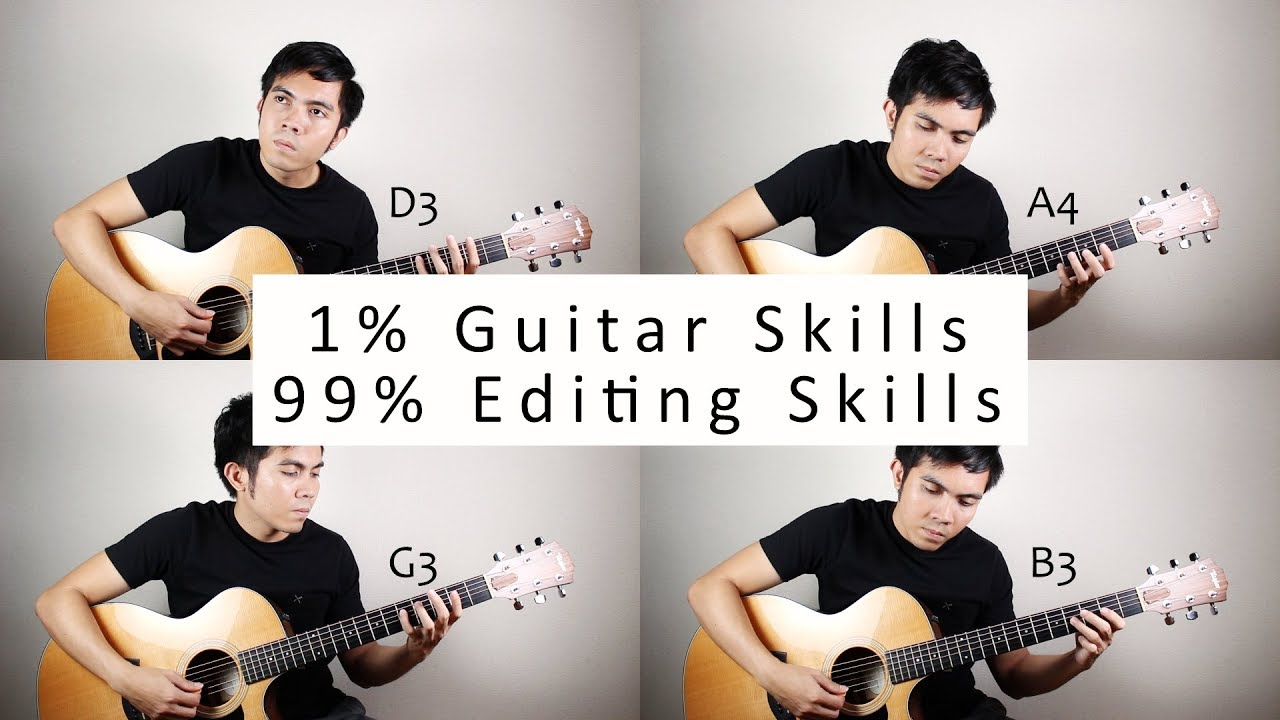 1% Guitar Skills 99% Editing Skills – The Ultimate Canon