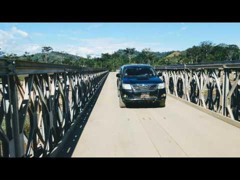 MINDEF inaugura puentes construidos por ingenieros militares
