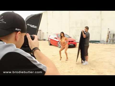 PerthStreetCar BTS: Twin Turbo VE Commodore feat. Melissa Byrne for Perth Street Car Magazine