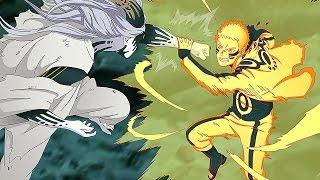 Hokage Naruto, Sasuke & Boruto Vs Momoshiki Full Fight (English Dub) - Road to Boruto Movie