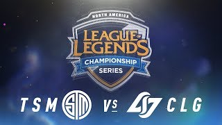 Video TSM vs. CLG - Week 4 Day 2 | NA LCS Spring Split | TSM vs. Counter Logic Gaming (2018) MP3, 3GP, MP4, WEBM, AVI, FLV Juni 2018