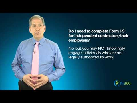 5 Most Common Questions Regarding I-9 Forms