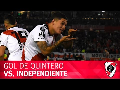 Gol de Juan Fernando Quintero vs. Independiente
