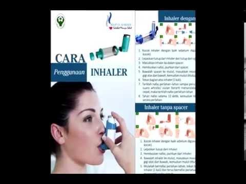 Cara menggunakan inhaler yang benar