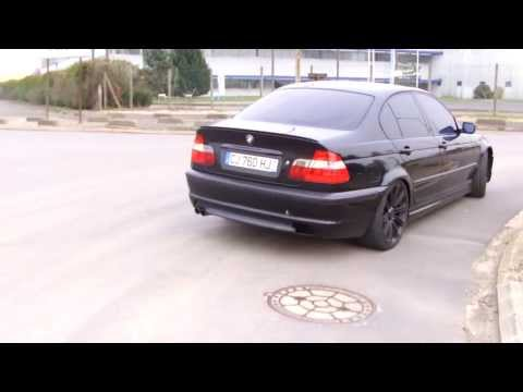 BMW 330d E46 - Custom Inox Exhaust - Pro Inox