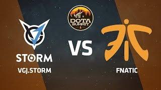 VGJ.Storm против Fnatic, Первая карта, DOTA Summit 9 LAN-Final