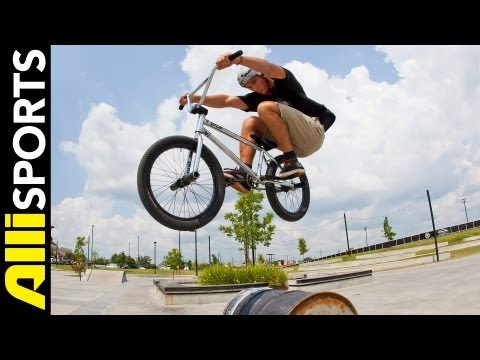 how to do a bunny hop - Broc Raiford knows his fundamentals and he is here to make sure you do, too. Seeing how the bunnyhop is a staple across all disciplines BMX, Broc breaks down...