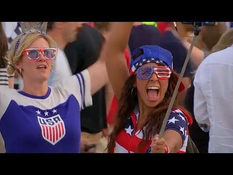 Fußball: Finale der WM in Lyon mit Weltmeister USA ge ...