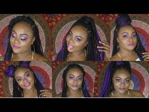 6 Easy Ways to Style Your Braids  Long Braid Hairstyles