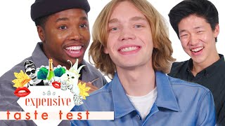 The Guys of 'Looking for Alaska' Struggled through This Entire Video | Expensive Taste Test | Co by Cosmopolitan