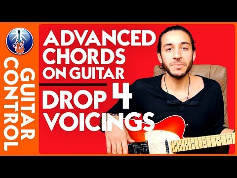Advanced Chords on Guitar – Drop 4 Voicings